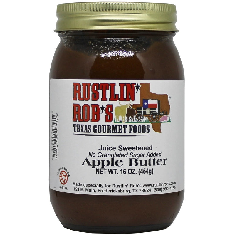 Apple Butter (No Sugar Added) 16oz. by Rustlin' Rob's