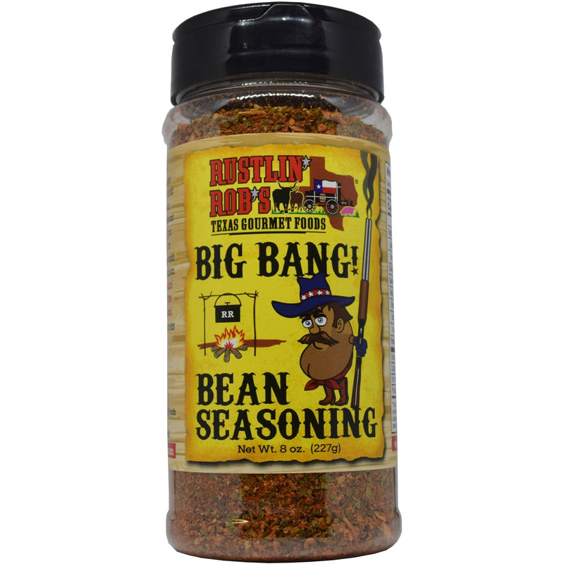 Rustlin' Rob's Big Bang Bean Seasoning 11oz.
