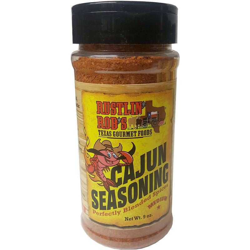 Rustlin' Rob's Cajun Seasoning 9oz