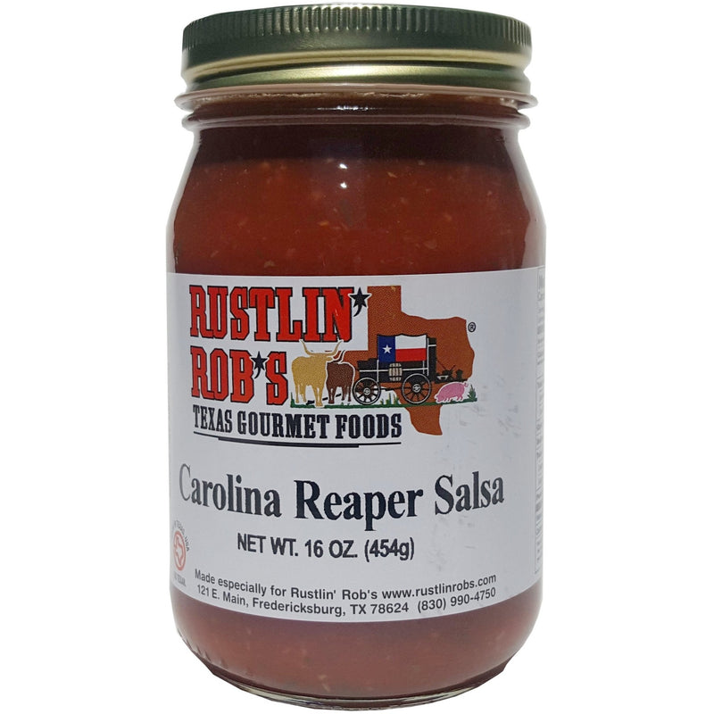 Carolina Reaper Salsa (Hottest we carry) 16oz. by Rustlin' Rob's