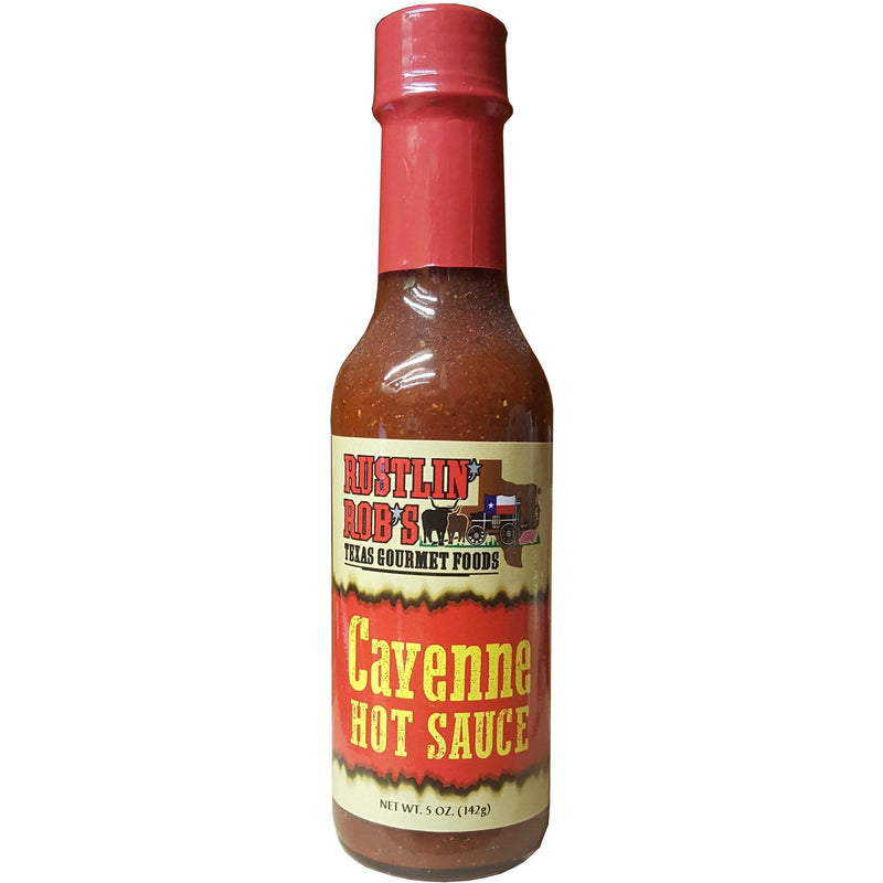 Cayenne Hot Sauce by Rustlin' Rob's
