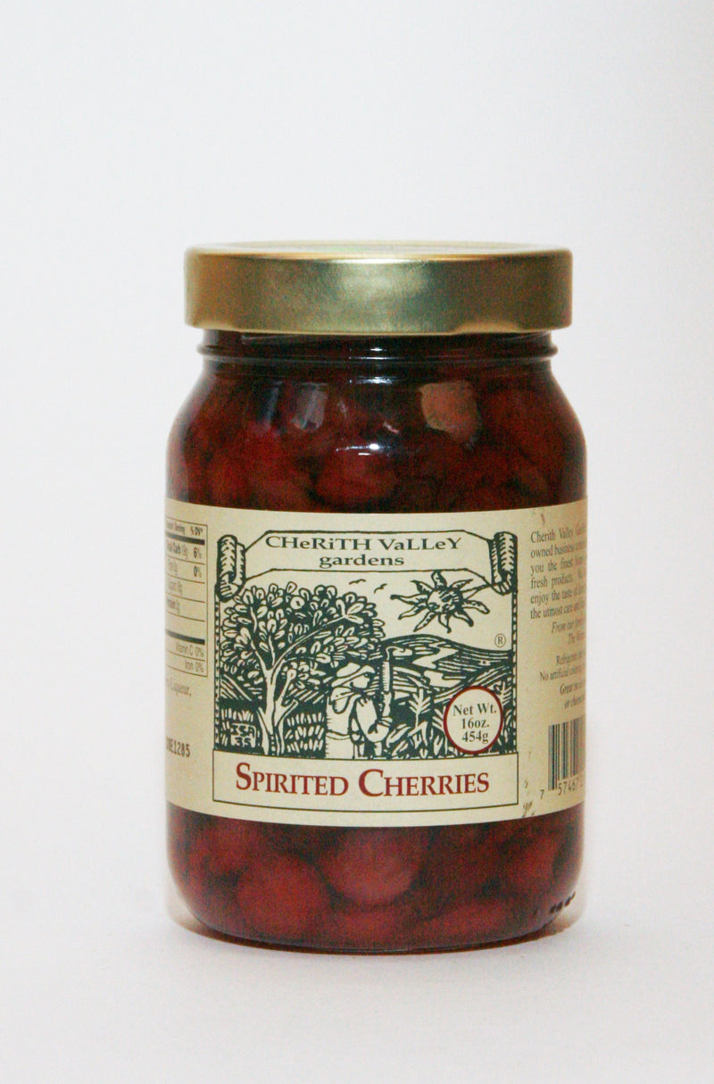 Cherith Valley Spirited Cherries 16oz