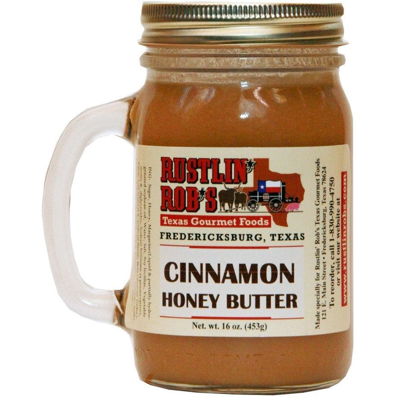 Cinnamon Honey Butter 16oz. by Rustlin' Rob's