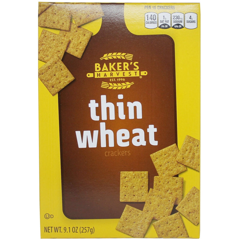 'Thin Wheat Crackers 10oz