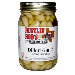 Dilled Garlic 16oz by Rustlin' Rob's