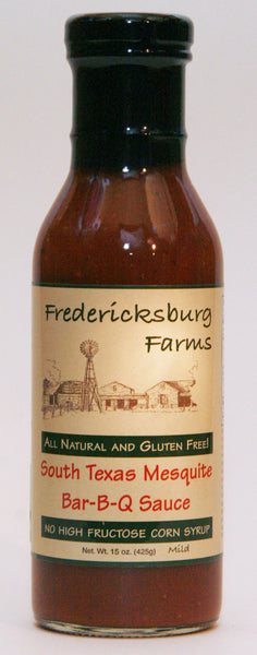 South Texas Mesquite BBQ Sauce 15oz by Fredericksburg Farms