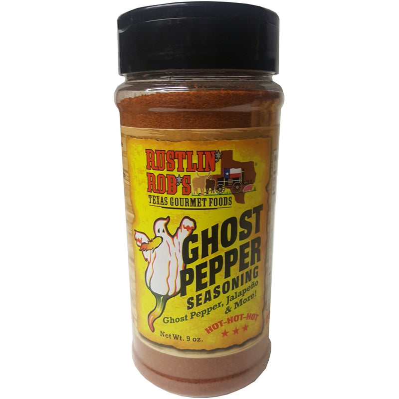Rustlin' Rob's Ghost Pepper Seasoning  9oz    EXTREME HEAT!