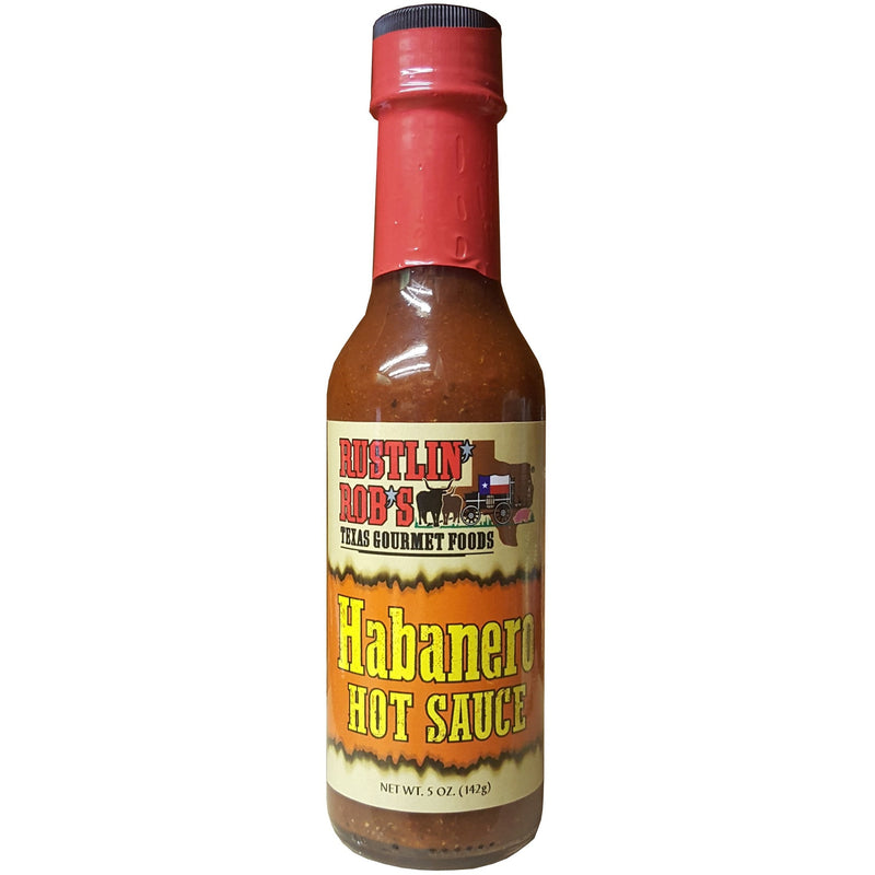 Habanero Hot Sauce by Rustlin' Rob's