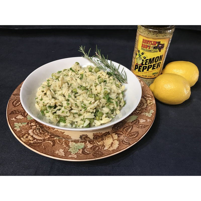 Rustlin' Rob's Lemon Pepper Seasoning 10oz