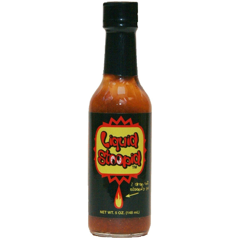 Liquid Stoopid Hot Sauce 5oz