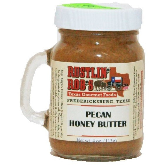 Mini Pecan Honey Butter by Rustlin' Rob's 4oz