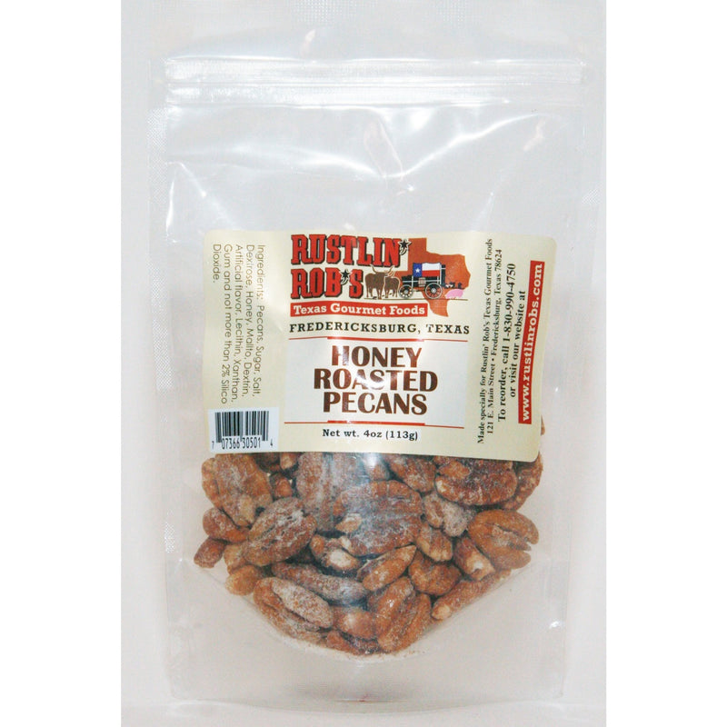 Honey Roasted Pecans by Rustlin' Rob's 4oz