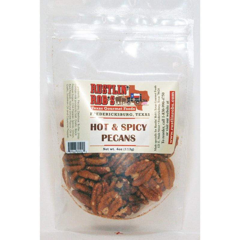 Hot & Spicy Pecans by Rustlin' Rob's 4oz