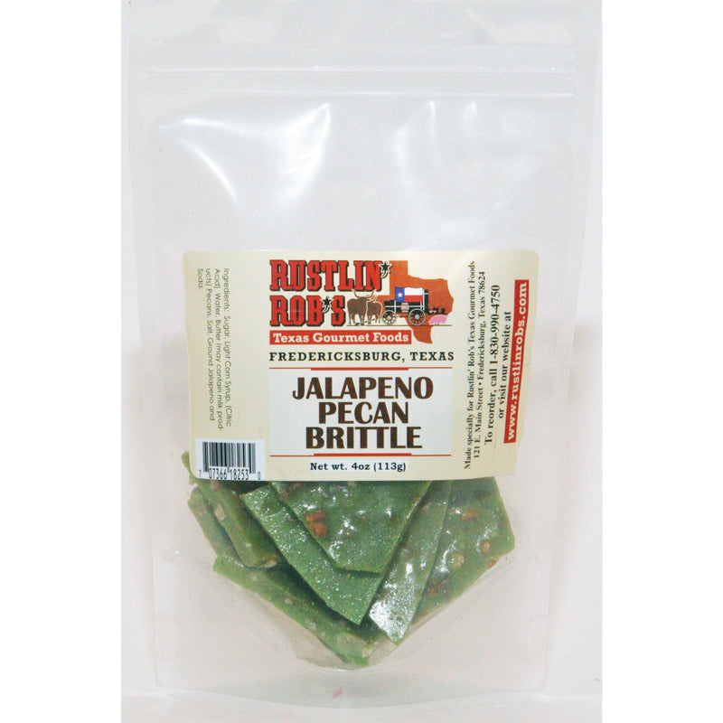 Jalapeno Pecan Brittle by Rustlin' Rob's 4oz