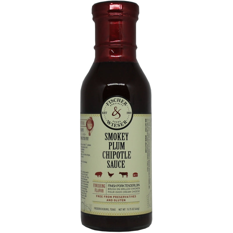 Hot Plum Chipotle Sauce 15.75oz BY Fischer & Wieser