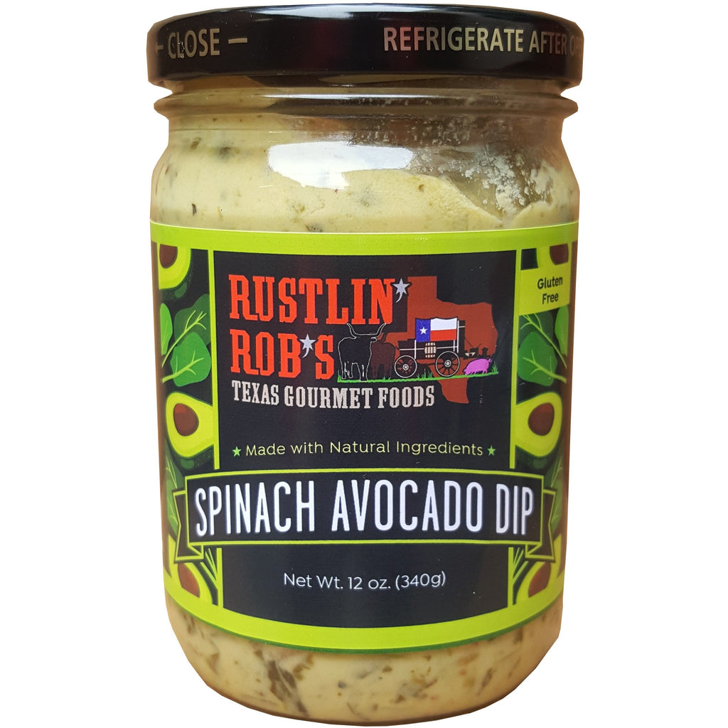 Spinach Avocado Dip by Rustlin' Rob's 12 oz.