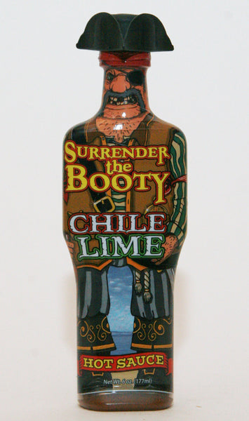 Surrender The Booty Chile Lime Hot Sauce 6oz