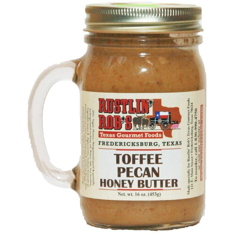 Toffee Honey Butter 16oz. by Rustlin' Rob's
