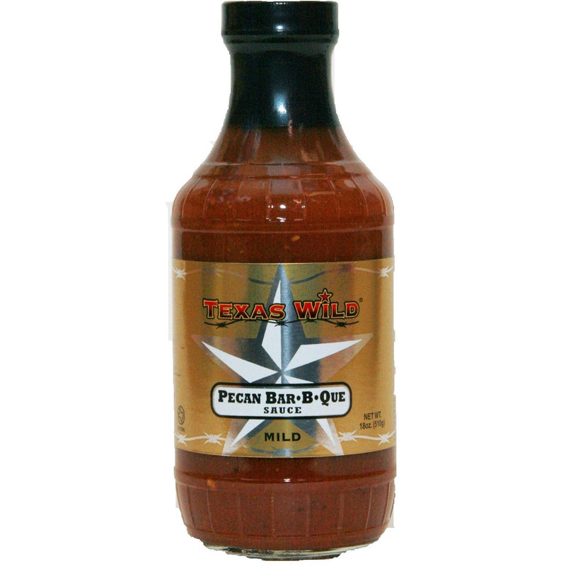 Pecan BBQ Sauce by Texas Wild 18oz