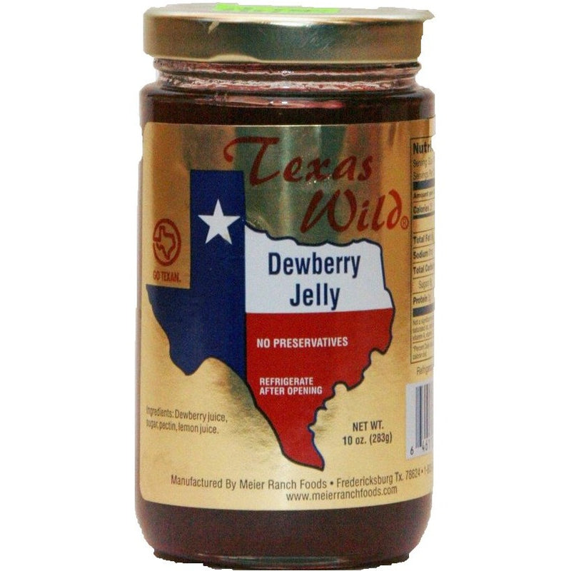 Dewberry Jelly Seasonal 12oz by Texas Wild
