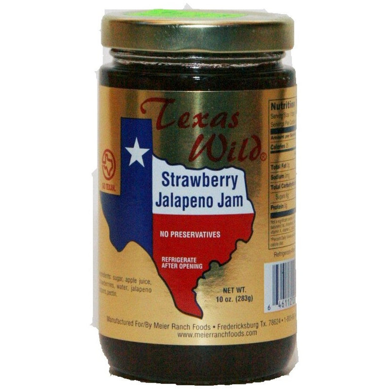 Strawberry Jalapeno Jelly 10oz
