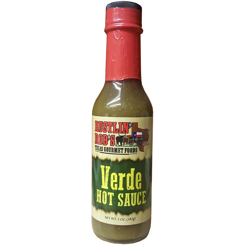Verde Hot Sauce by Rustlin' Rob's