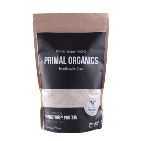 Organic Natural Whey Protein