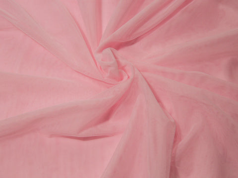 "18"" x 30"" Bra Tulle Petal Pink Nylon Non Stretch Cup Lining - Arte Crafts Bra Making Supplies"
