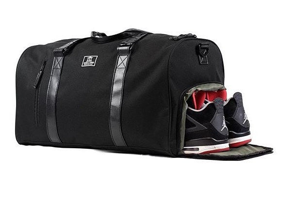 House of Three Duffel Bag Black