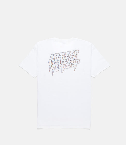 10 Deep Digital Fury Tee White