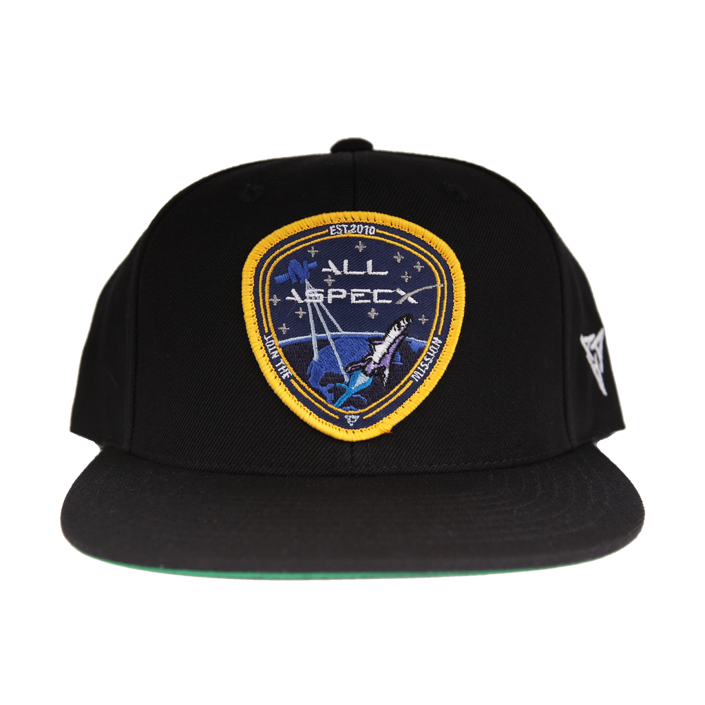 All Aspects Badge Snapback - Black