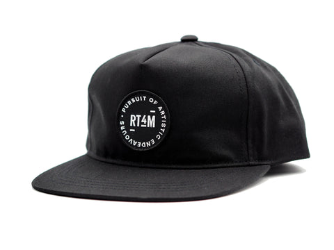 RT4M Endeavor II Snapback Black