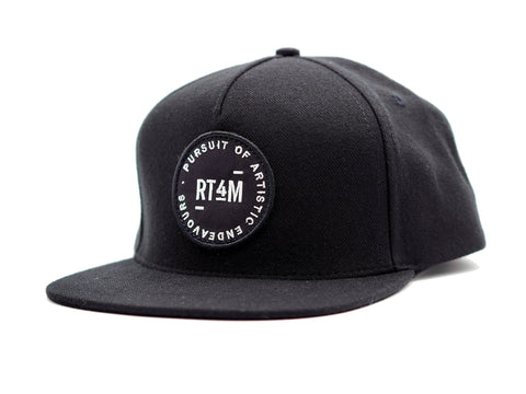 RT4M Endeavor Snapback Black