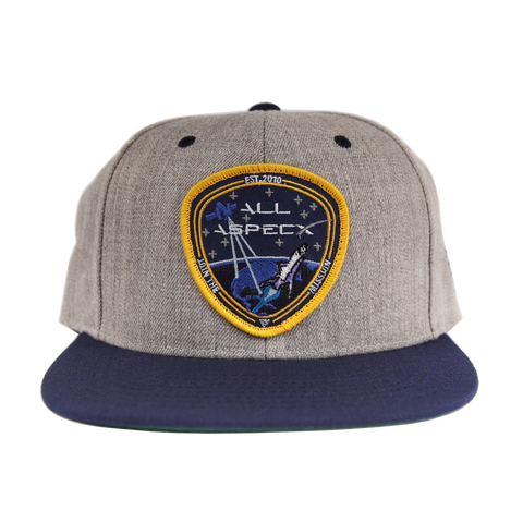 All Aspects Badge Snapback - Heather