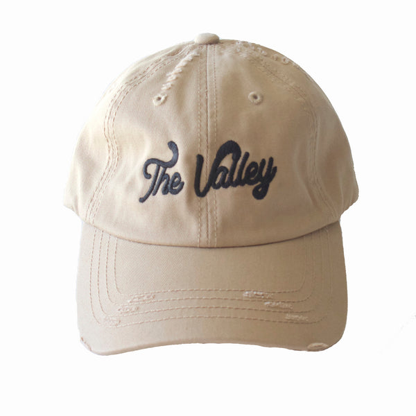 The Valley Dad Hat in Khaki