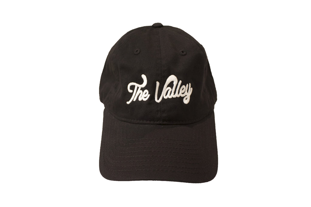 The Valley Black Dad Hat