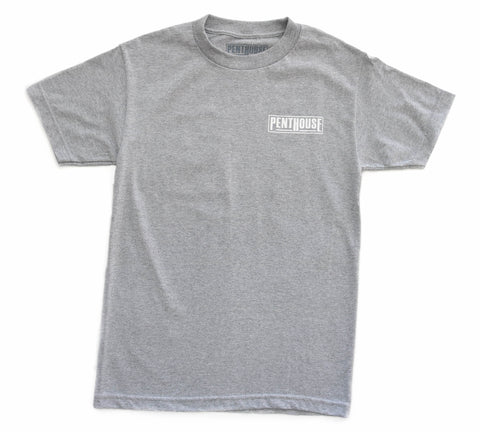 Penthouse Clothing Co. Life is Suite Tee Grey
