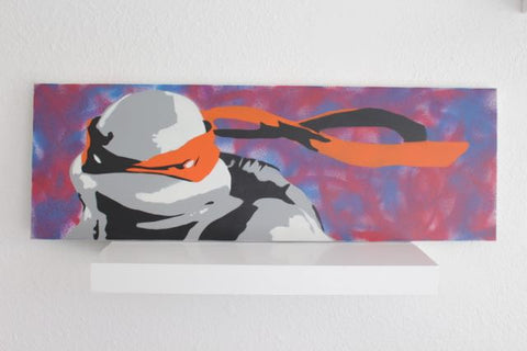 Lucas Raynaud Ninja Turtles Painted Canvas