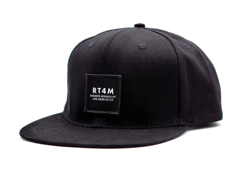 RT4M Los Angeles Snapback Black