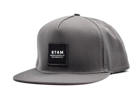 RT4M Los Angeles Snapback Charcoal