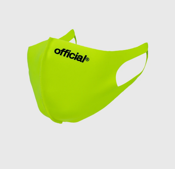 Official Face Mask (Volt Neon Green)