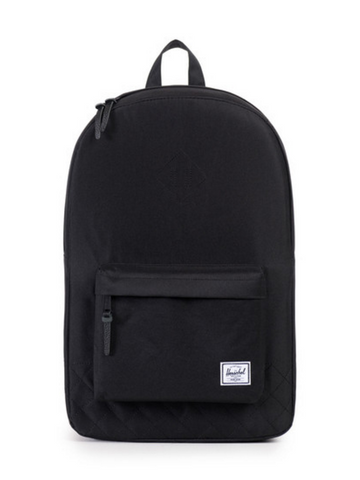 Herschel Supply Co. Heritage Backpack Black Quilted