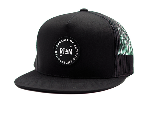 RT4M Black Endeavour Trucker Hat