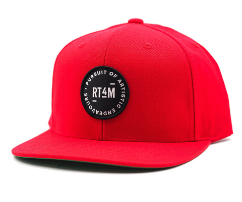 RT4M Red Endeavour Snapback Hat