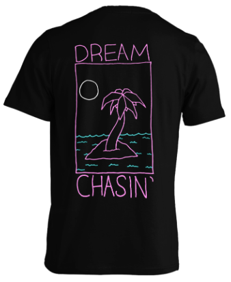 D.R.E.A.M. Dream Chasin' Black T-Shirt