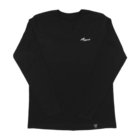 All Aspects Script Long Sleeve Tee