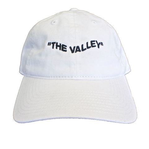 """The Valley"" White Wavy Hat"