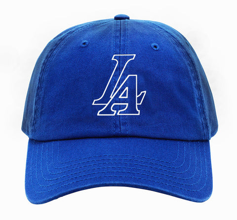 LA Champs Dodger Blue 2020 World Series Dad Hat