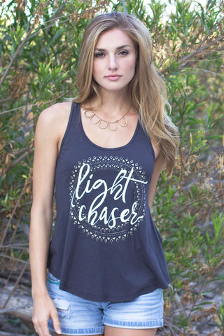 Freedom Rise Light Chaser Women Tank Top