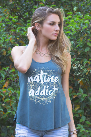 Freedom Rise Nature Addict Women Tank Top